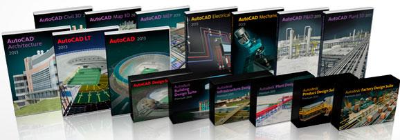 Família AutoCAD 2013 chega ao mercado com várias soluções para AEC, infraestrutura e plant design