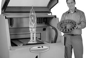 Impressoras 3D serão destaque na Feira Mecânica 2012