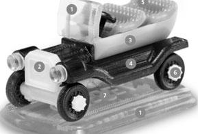 Objet supera barreira dos 100 materiais para impressão 3D