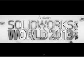 Realidade aumentada e mídias sociais na SolidWorks World 2013