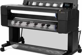 HP lança impressoras para engenheiros e arquitetos