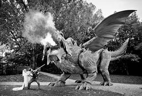 Dragão criado no Creo está no livro de recordes como maior robô