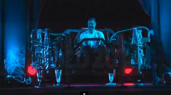 Jonathan Tippett exibe sua Mondo Spider na SolidWorks World