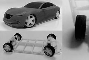 Equipe do CATIA usa impressão 3D para criar protótipo de carro