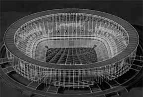 Estádio sustentável de Brasília foi projetado no AutoCAD