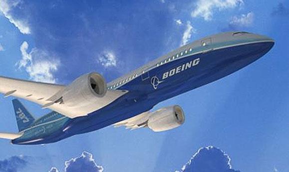 O Boeing 787 é dos aviões produzidos pela Boeing utilizando peças e conjuntos de componentes produzidos pela TAI