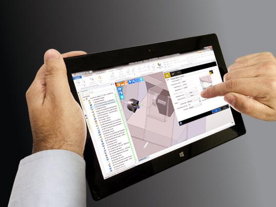 A SKA estará apresentando em seu estande como usar o Edgecam 2014 R1 para criar programas CNC em um Tablet