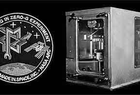 Estação Espacial produzirá peças de reposição em impressora 3D