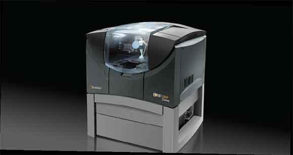 A Objet260 Connex pode imprimir até 14 propriedades mecânicas de materiais diferentes na mesma peça impressa