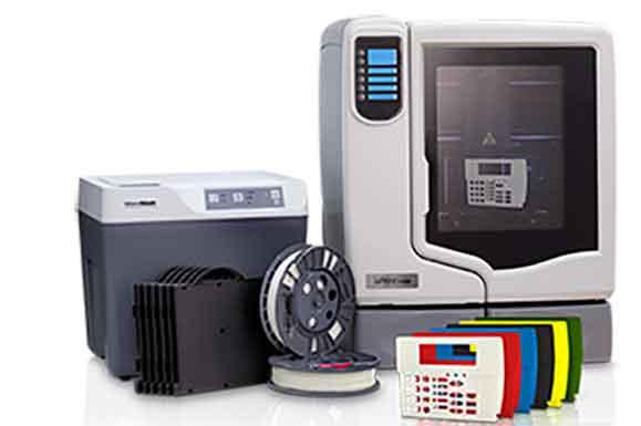 """Construir modelos 3D na impressora Stratasys 3D uPrint SE é tão fácil quanto clicar """"imprimir"""""""