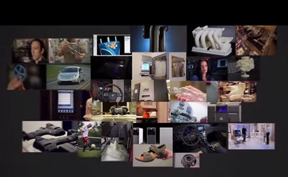 Modelos impressos nos diversos modelos de impressoras da 3D Systems