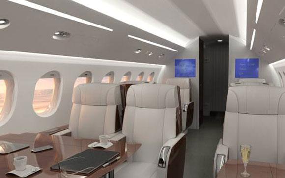 Passenger Experience facilita configuração da cabine da aeronave
