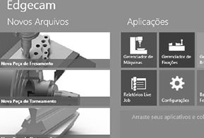Conheça a nova interface workflow do Edgecam 2015 R2