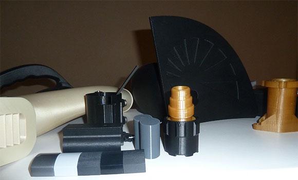 Peças produzidas com materiais de alta resistência concebidos pela Stratasys para FDM