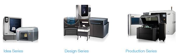 Conheça todas as impressoras Stratasys classificadas por aplicações