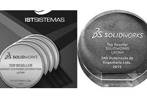 DS SolidWorks premia revendas que se destacaram no Brasil e AL
