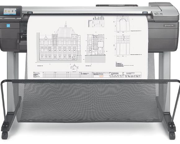 A T830 permite que os usuários ofereçam impressões de maneira econômica para reuniões
