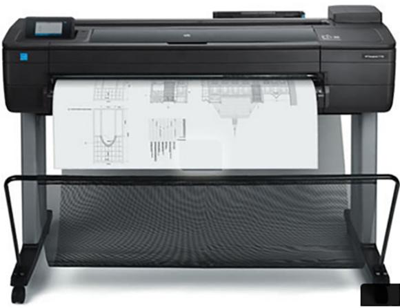 HP DesignJet T730 fornece maisfacilidade de uso e velocidades competitivas