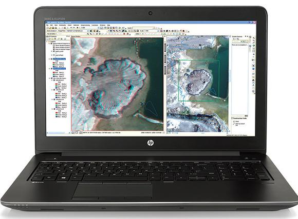 HP ZBook 17 é configurada com um processador Intel Core ou Xeon e bateria dura 67& a mais