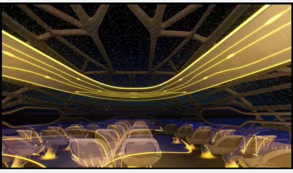 Cabine conceitual  inova em tecnologias de projeto e fabricação e em novos materiais
