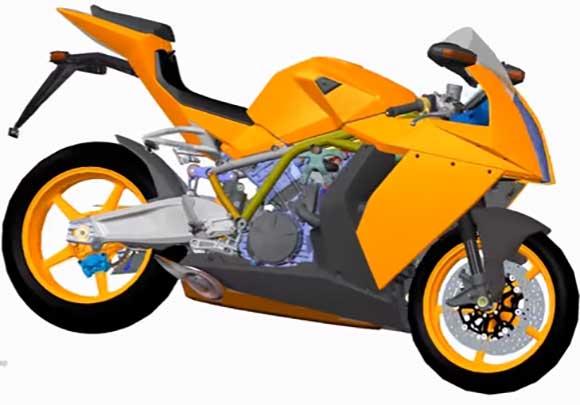 PTC Creo traz soluções para criação de produtos em diversos segmentos da indústria como o de motos