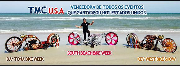 Tarso Marques e suas customizações de motos premiadas nos EUA
