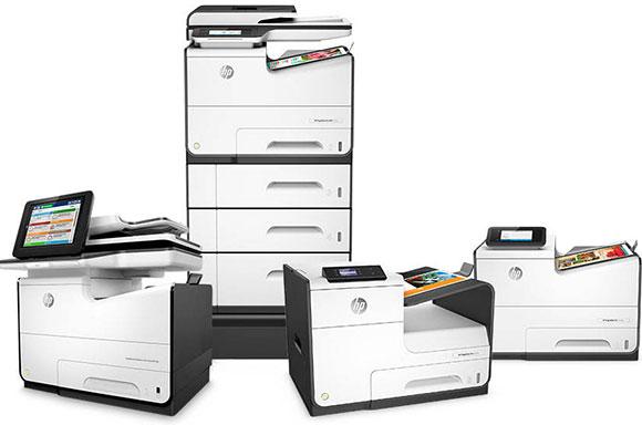 As novas impressoras HP consolidam o fluxo de trabalho permitindo fornecer impressões em cores e monocromáticas (P&B) em metade do tempo