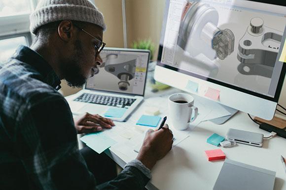 SolidWorks 2018 permite equipe de desenvolvimento ter acesso aos dados do projeto em qualquer lugae